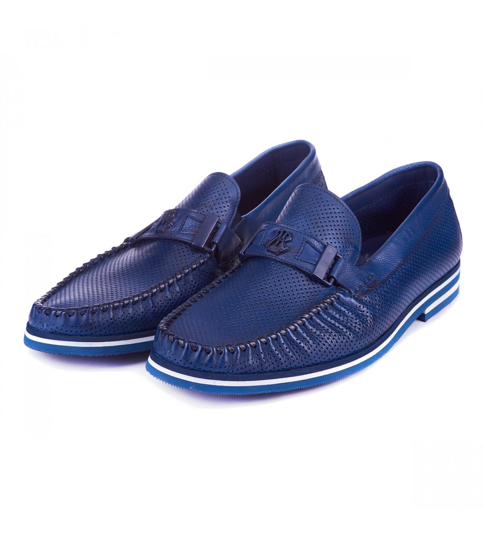 Мокасини Mario Bruni 62937 blu
