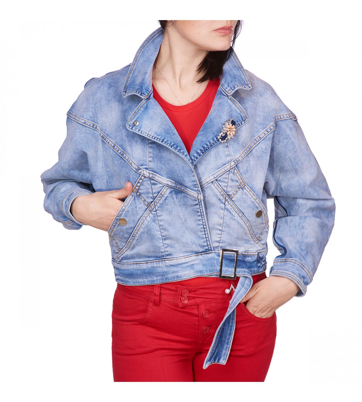Джинсова куртка Liu Jo FA0161 D4496